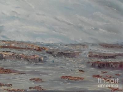 Painting - Rough Seas by Isabel Honkonen