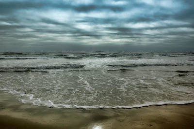 Photograph - Rough Surf by Ellen Heaverlo