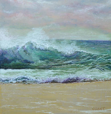 Painting - Rough Surf by Joanne Grant