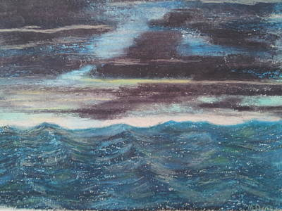 Rough Water Original by Michael Dancy