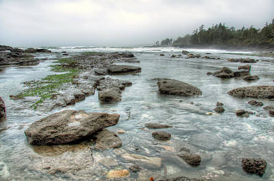 Juan De Fuca Provincial Park Photograph - Rough Waters by James Wheeler