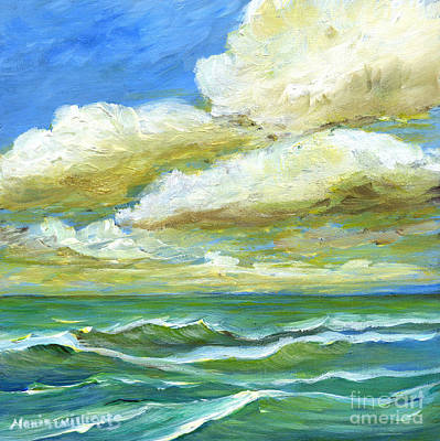 Painting - Rough Waters by Maria Williams