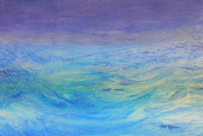 Painting - Rough Waters by Mark Minier