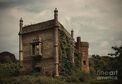 Empty House Photograph - Rougham Hall by Svetlana Sewell