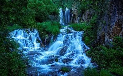 Photograph - Roughlock Falls In Spearfish Canyon by Ray Van Gundy