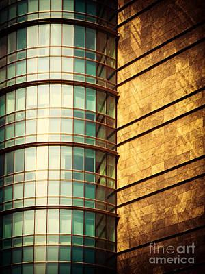 Photograph - Round Facade by Silvia Ganora