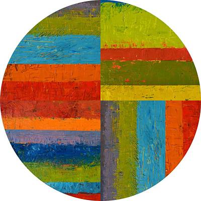 Painting - Round by Michelle Calkins