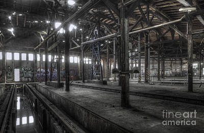 Abandoned Photograph - Roundhouse Iv by Julie Woodhouse