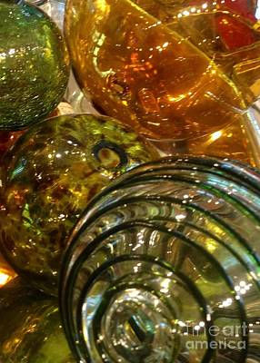Photograph - Rounds Of Blown Glass by Susan Garren