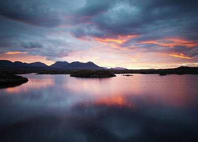 Congas Photograph - Roundstone Bog  Connemara Galway by Peter McCabe