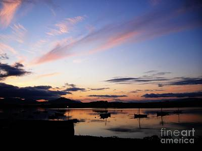 Irish Photograph - Roundstone Harbour by Eamonn Hogan
