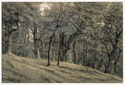 Impressionism Photograph - Rousseau, Th�odore 1812-1867. Forest by Everett