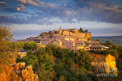 Roussillon Dawn Art Print by Brian Jannsen