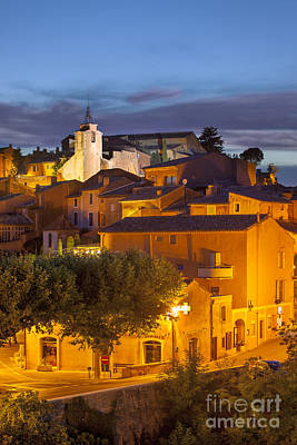 Photograph - Roussillon Twilight by Brian Jannsen