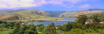 Sonoma County Photograph - Route 1, Bridge Over Russian River by Panoramic Images