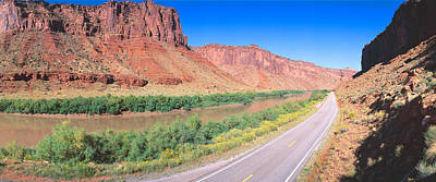 Rocky Mountain States Photograph - Route 128, Colorado River, View by Panoramic Images