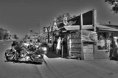 Photograph - Route 66 2 by Richard J Cassato