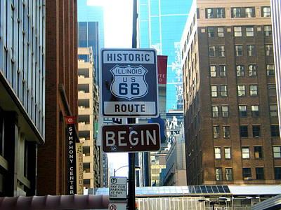 Route 66 Begin 1 Original