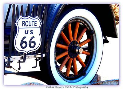 Photograph - Route 66 by Bobbee Rickard