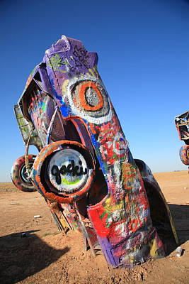 Photograph - Route 66 Cadillac Ranch by Frank Romeo