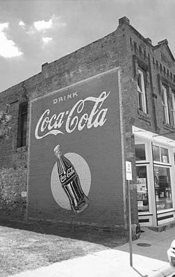 Route 66 - Coca Cola Mural Art Print