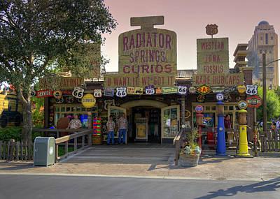 Photograph - Route 66 Curios by Ricky Barnard