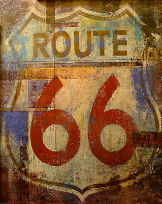 Photograph - Route 66 by Denise Mazzocco