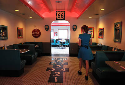 Wall Art - Photograph - Route 66 Diner by Mark Sullivan