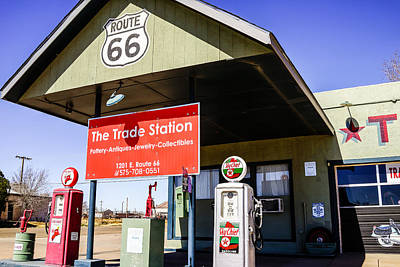 Photograph - Route 66 Gas Station by Ben Graham