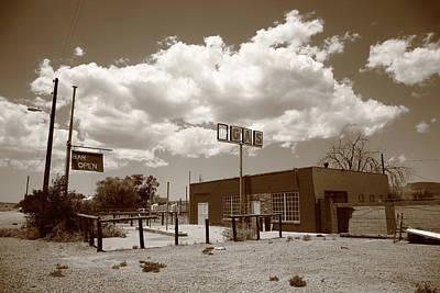 Route 66 In Arizona Art Print by Frank Romeo