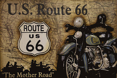 Photograph - Route 66 by Jack R Perry