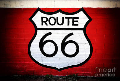 Photograph - Route 66 by John Rizzuto