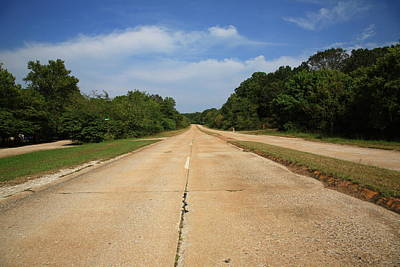 Photograph - Route 66 - Missouri Concrete Highway by Frank Romeo