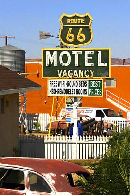 Route 66 Motel - Barstow Art Print