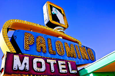 Photograph - Route 66 Palomino Motel by Ben Graham