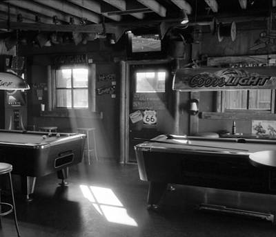 Photograph - Route 66 Pool Hall by Luis Esteves