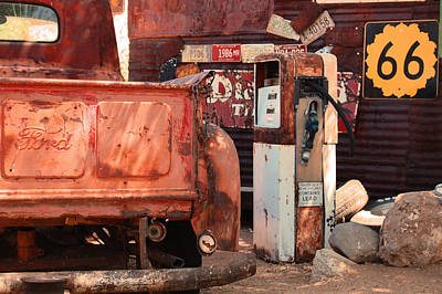 Photograph - Route 66 Pump by Leticia Latocki