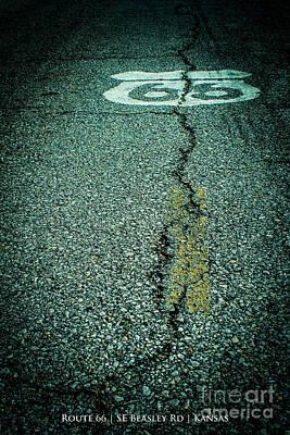 Route 66 Roadway Original