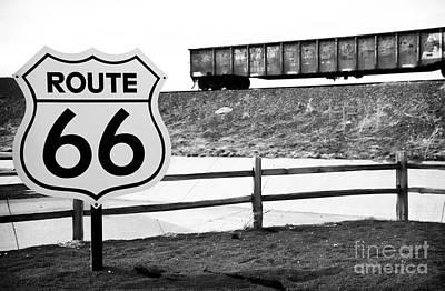 Route 66 Sante Fe Art Print by John Rizzuto