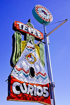Photograph - Route 66 Sign by Ben Graham