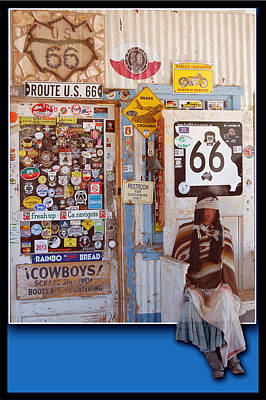Photograph - Route 66 Signs by Leticia Latocki