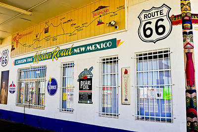 Photograph - Route 66 Store Front by Ben Graham