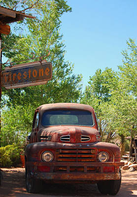 Photograph - Route 66 Truck by Leticia Latocki