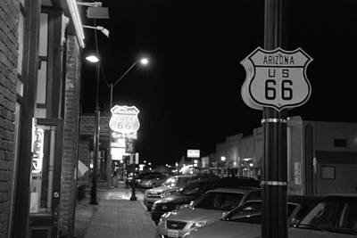 Photograph - Route 66 Williams Az by John Schneider
