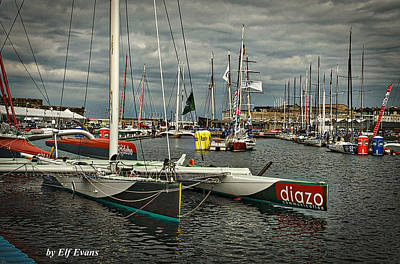 Photograph - Route Du Rhum Ready by Elf Evans