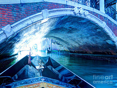 Art Print featuring the photograph Route To Light by Hanza Turgul
