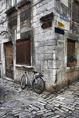 Photograph - Rovinj Street Corner by Crystal Nederman