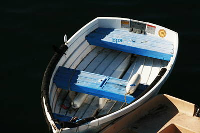 Row Boat Digital Art - Row Boat 33 by Lester Schwabe
