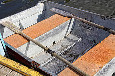Row Boat Digital Art - Row Boat by Lori Frostad