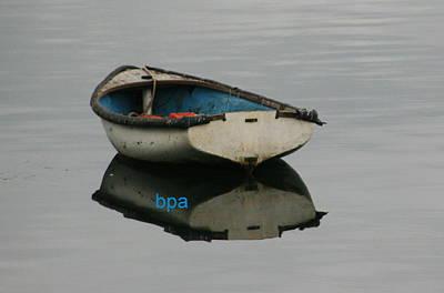 Row Boat Digital Art - Row Boat North Coast by Lester Schwabe